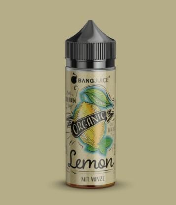 Bang Juice Organic Lemon 100ml 0mg