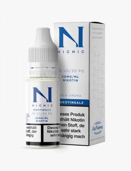 NICNIC 70VG / 30 PG Nikotinsalz 20mg 10ml