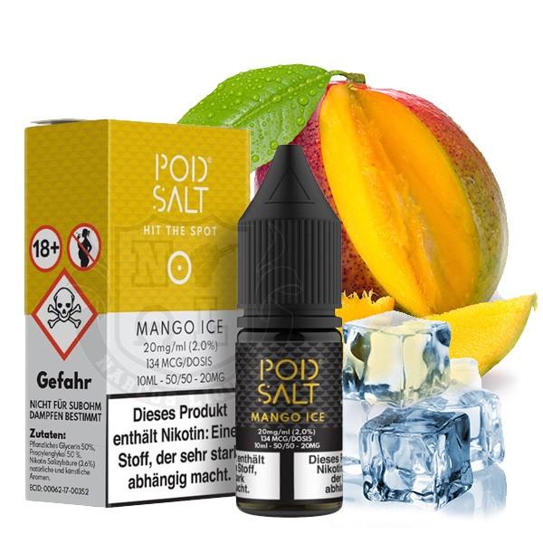 POD SALT Mango Ice Nikotinsalz Liquid 10 ml
