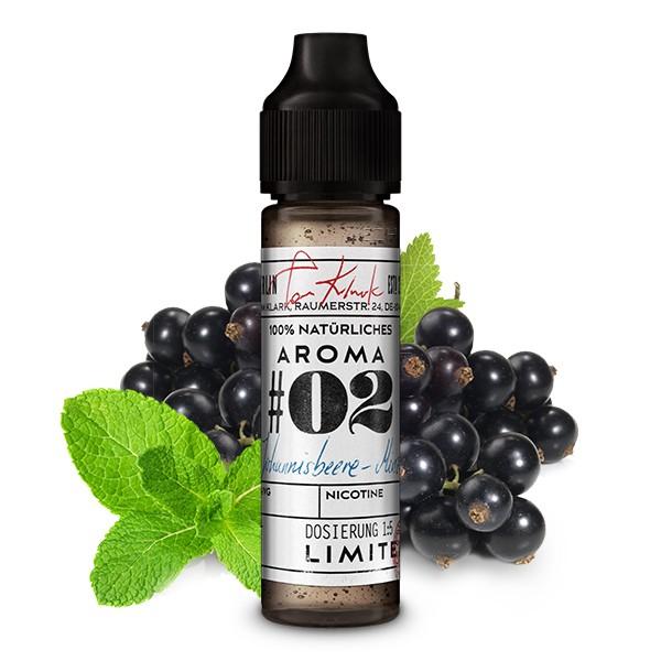 TOM KLARK'S Natürliche Aromen No.02 Johannisbeere-Minze Aroma 10ml