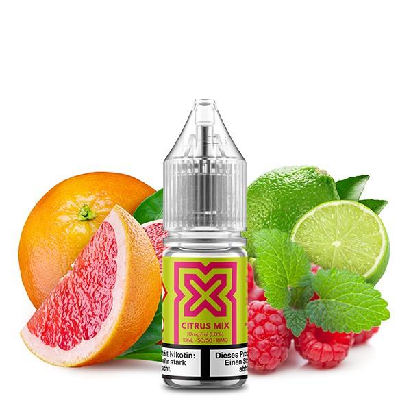 POD SALT X Citrus Mix Nikotinsalz Liquid 10 ml