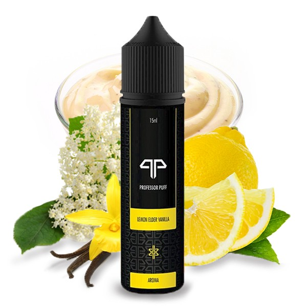 Professor Puff Lemon Elder Vanilla 15ml Longfill