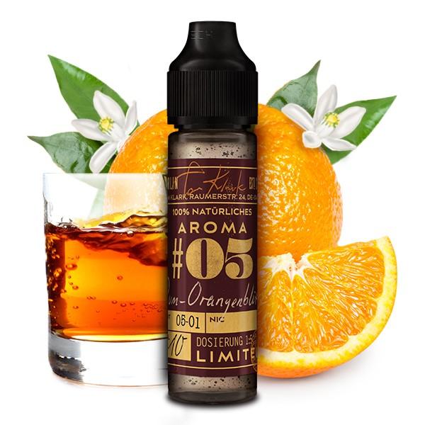 TOM KLARK'S Natürliche Aromen Winter Edition No.05 Rum-Orangenblüte Aroma 10ml