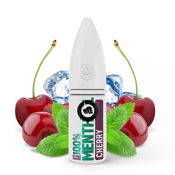 Riot Squad 100% Menthol Cherry Hybrid Nikotinsalz Liquid 10ml