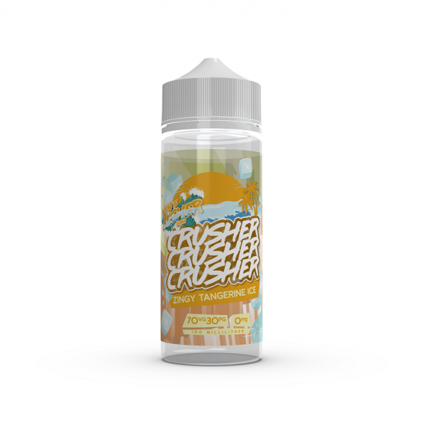 Crusher E-Liquid - Zingy Tangerine Ice 0 mg 100 ml
