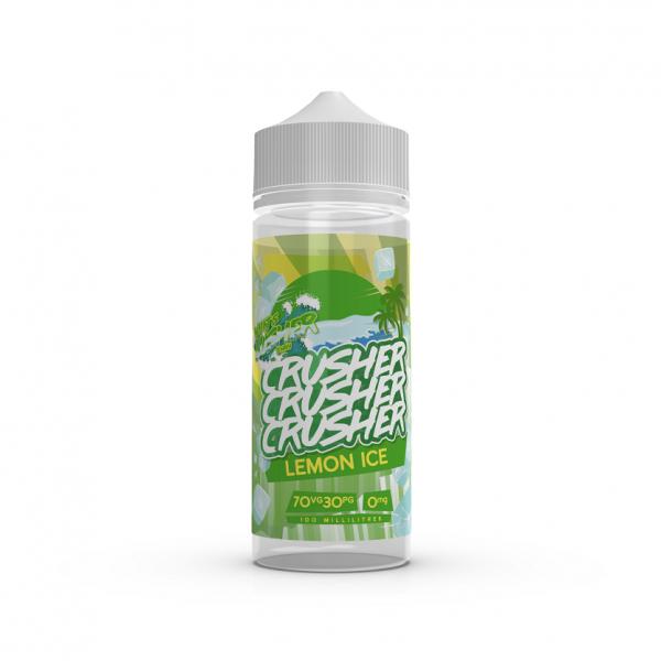 Crusher E-Liquid - Lemon Ice 0 mg 100 ml