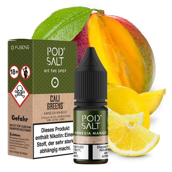 POD SALT FUSION Amnesia Mango Nikotinsalz Liquid 10 ml