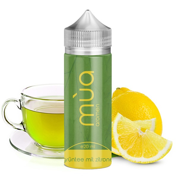 MÙA Grüntee mit Zitrone Aroma 20ml