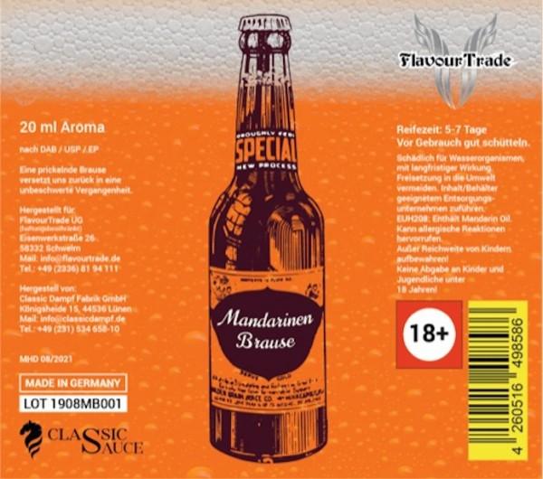 Flavour-Trade - Mandarinen Brause 20ml