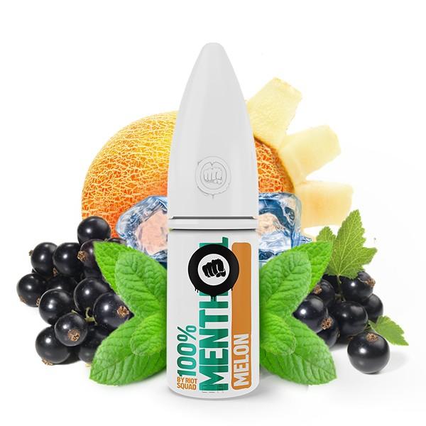 Riot Squad 100% Menthol Melon Hybrid Nikotinsalz Liquid 10ml