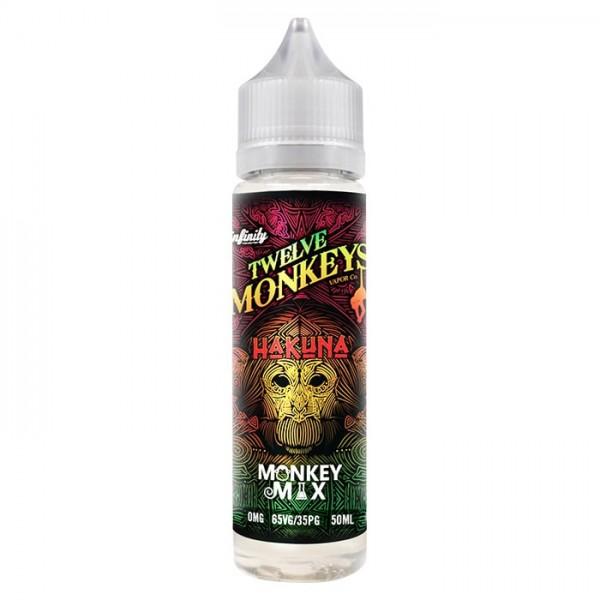 Twelve Monkeys - Hakuna 50ml 0mg